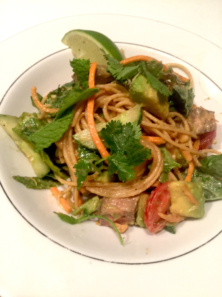 Thai Steak and Noodle Salad