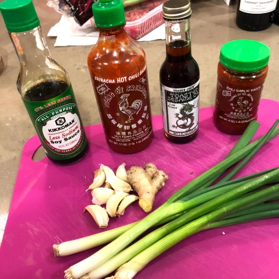 Asian Marinade Ingredients